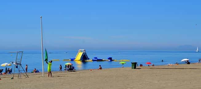 Limpieza playas Villajoyosa: Peon de limpieza