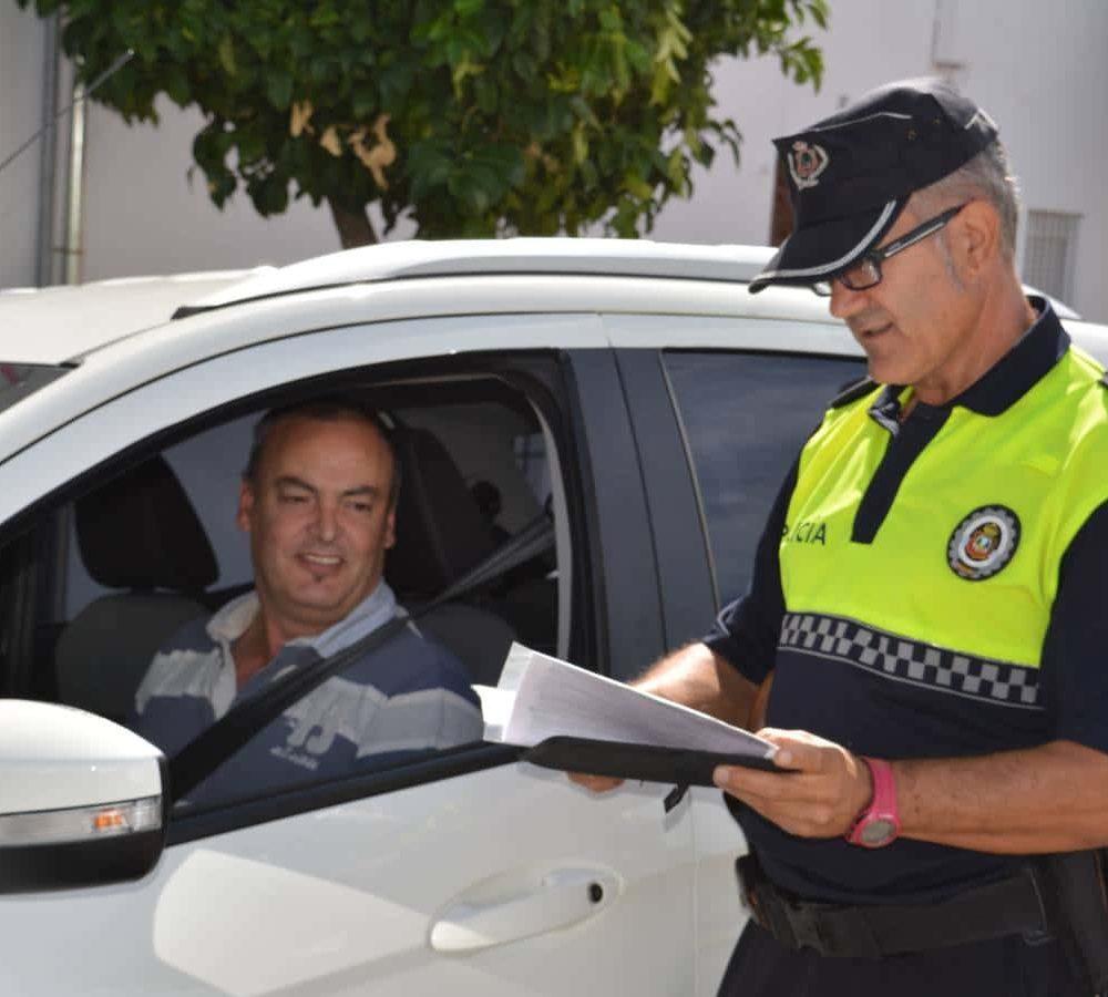 Policia local Talarrubias
